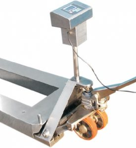 Pallet weighing scales